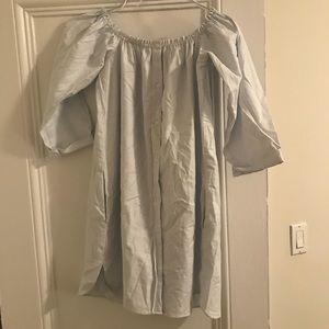 Zara shirt dress size small